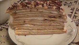 торт медовик готовое блюдо