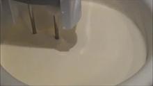добавляем сливки