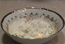 соус с био йогуртом