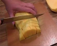 брусочки тыквы