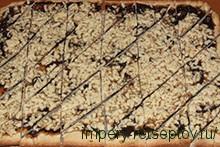 нарезать ромбиками пирог