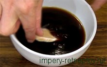 печенье окунаем в кофе
