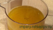 апельсиновый сок с маслом
