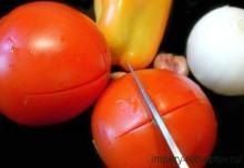 помидоры и перец