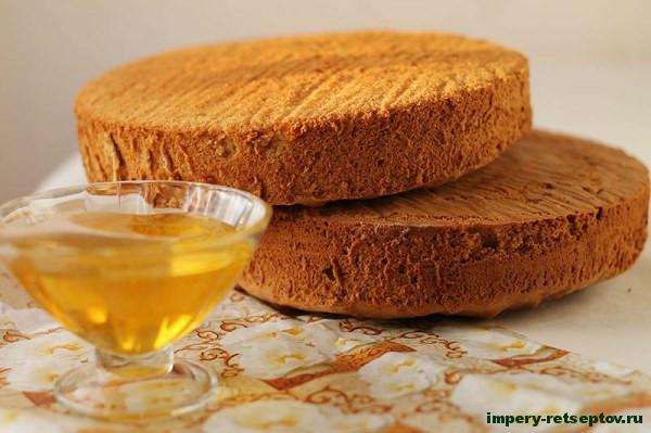 медовые бисквиты
