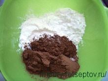 вкусный пирог с шоколадом