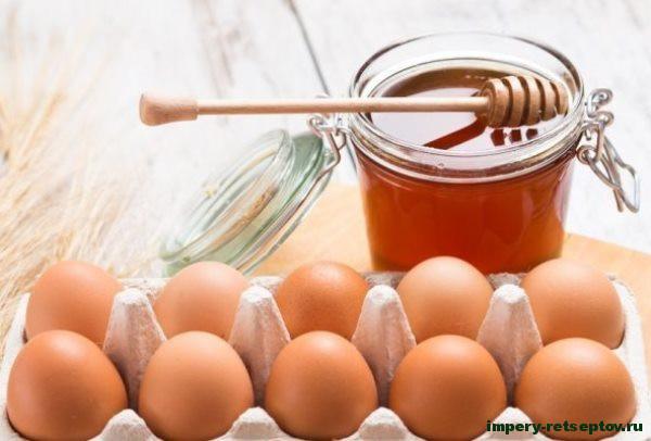 яйца и мед