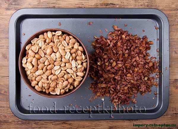 Натуральная арахисовая паста
