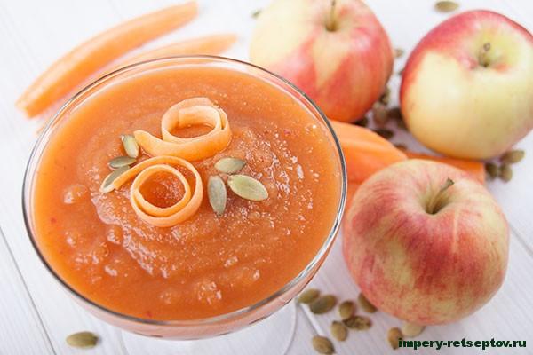 Морковно-яблочный смузи