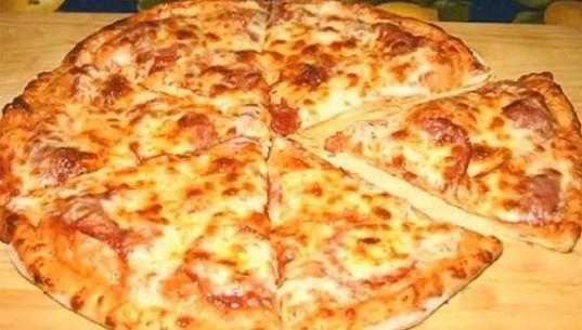 сметанная пицца
