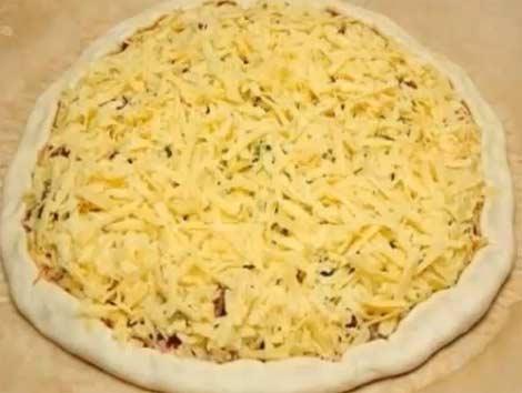 тесто с сыром