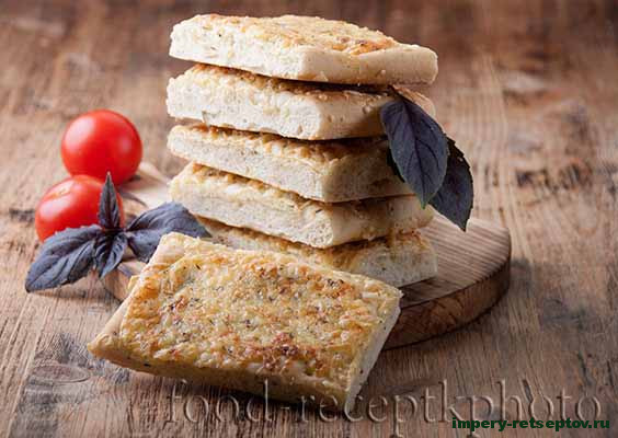 Домашние сырные хлебцы