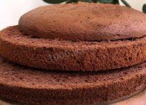 Генуэзский шоколадный бисквит