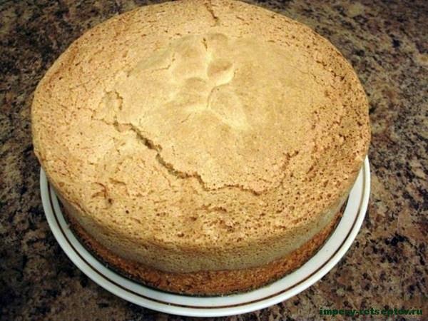 Бисквитное тесто - рецепт с фото