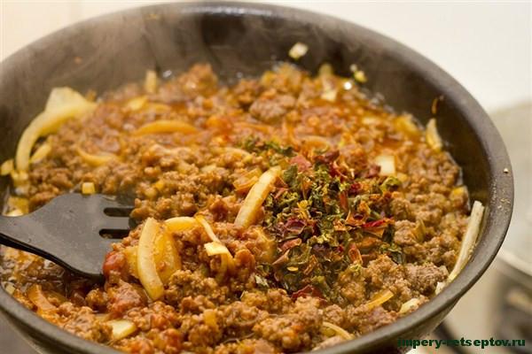 Рецепт домашней пасты болоньезе