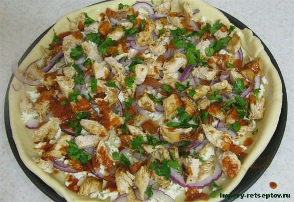 Начинка для пиццы по-домашнему