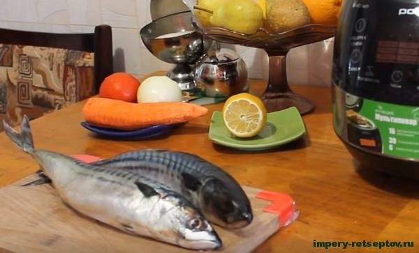 Скумбрия в мультиварке и духовке по-домашнему