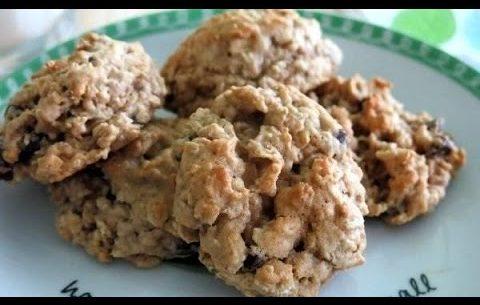 Овсяное печенье без яиц