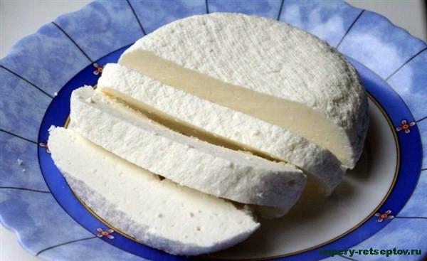 Адыгейский сыр по-домашнему