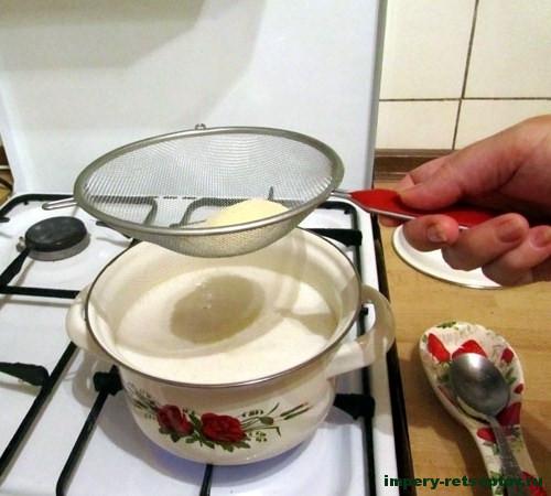 Манный пудинг рецепт с фото
