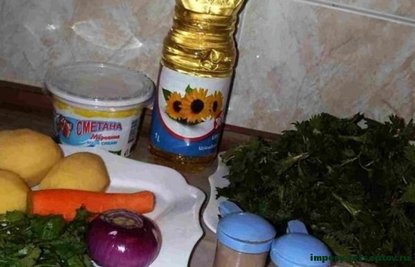 Суп из крапивы - рецепт с фото