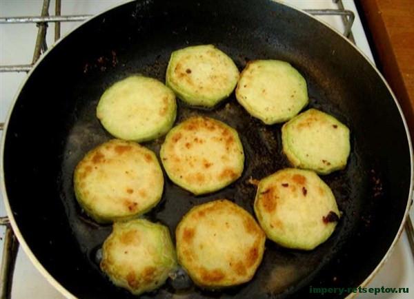 Жареные кабачки - рецепт с фото