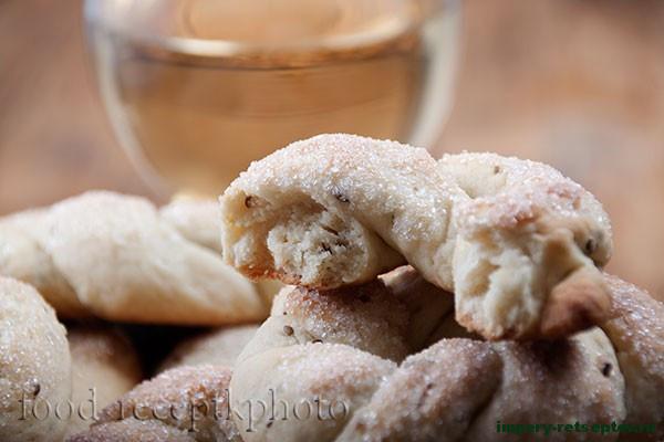 Итальянское винное печенье