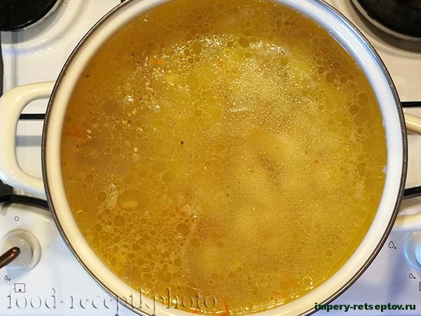 Суп с ячневой крупой