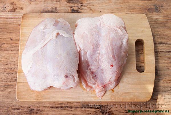 Диетический холодец и котлеты из куриной грудки
