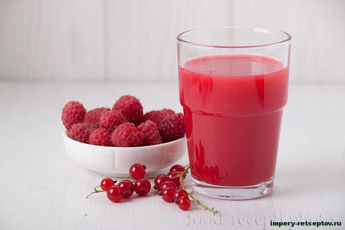 Натуральный сок из ягод на зиму