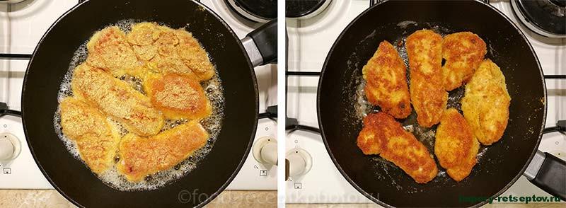 Наггетсы домашние в картофельной панировке