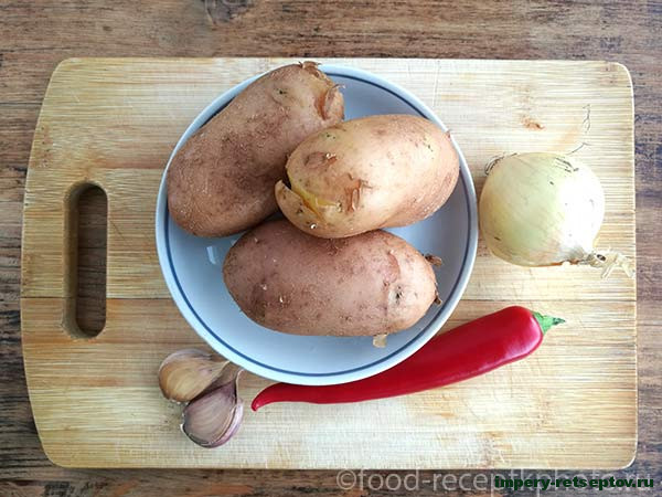 Картофельные пикантные оладьи