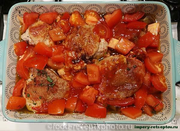 Мясо по тоскански