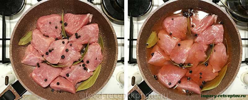 Свинина с соусом из чернослива
