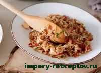 готовый рис с курицей по-тайски