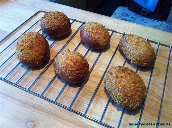 Каре-пан - рецепт японских булочек с карри