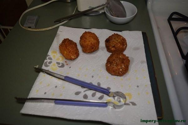 Картофельные крокеты по-японски