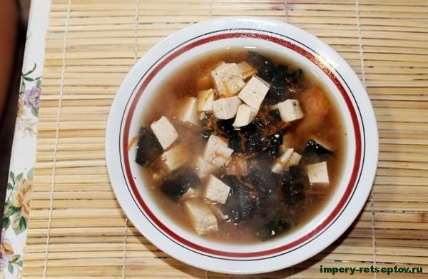 Рецепт супа мисо