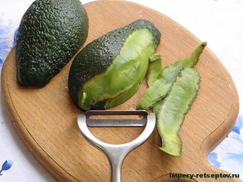 Домашний паштет из авокадо