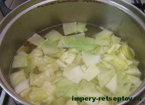 Сварить пекинскую капусту