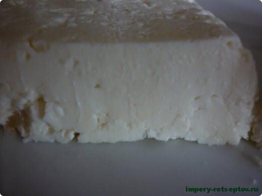Сыр фета по-домашнему