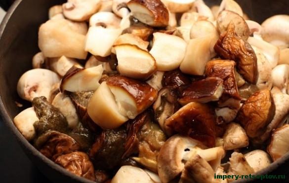 Домашняя икра из грибов