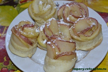 Домашние печенья – розочки