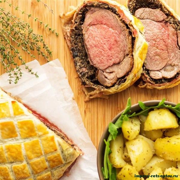 Классический рецепт говядины Веллингтон