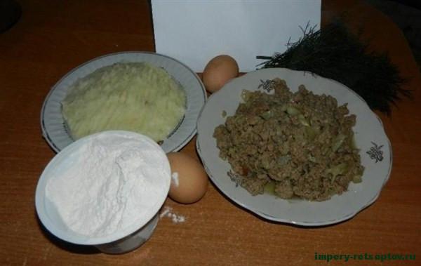 Рецепт картофельных зраз с фаршем