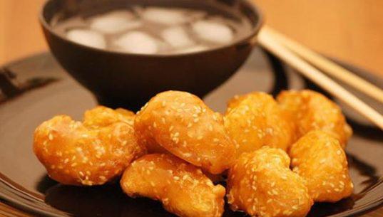 фрукты в карамели по-китайски
