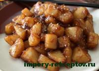 готовый картофель по-корейски