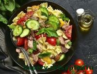 готовый китайский салат с тунцом