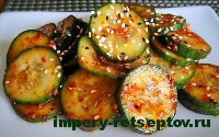готовый корейский салат из огурцов
