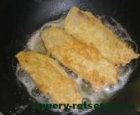 обжарить филе на сковороде
